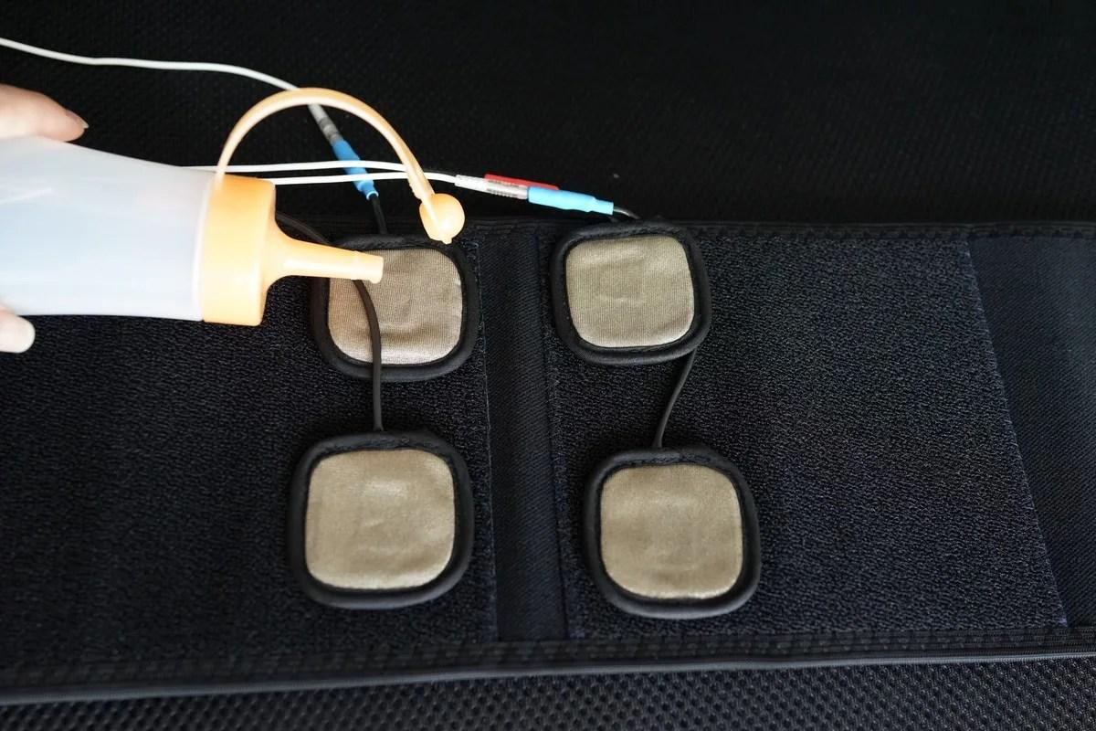 パーフェクト4000 使い方 別売りのベルトを用いた使い方参考画像