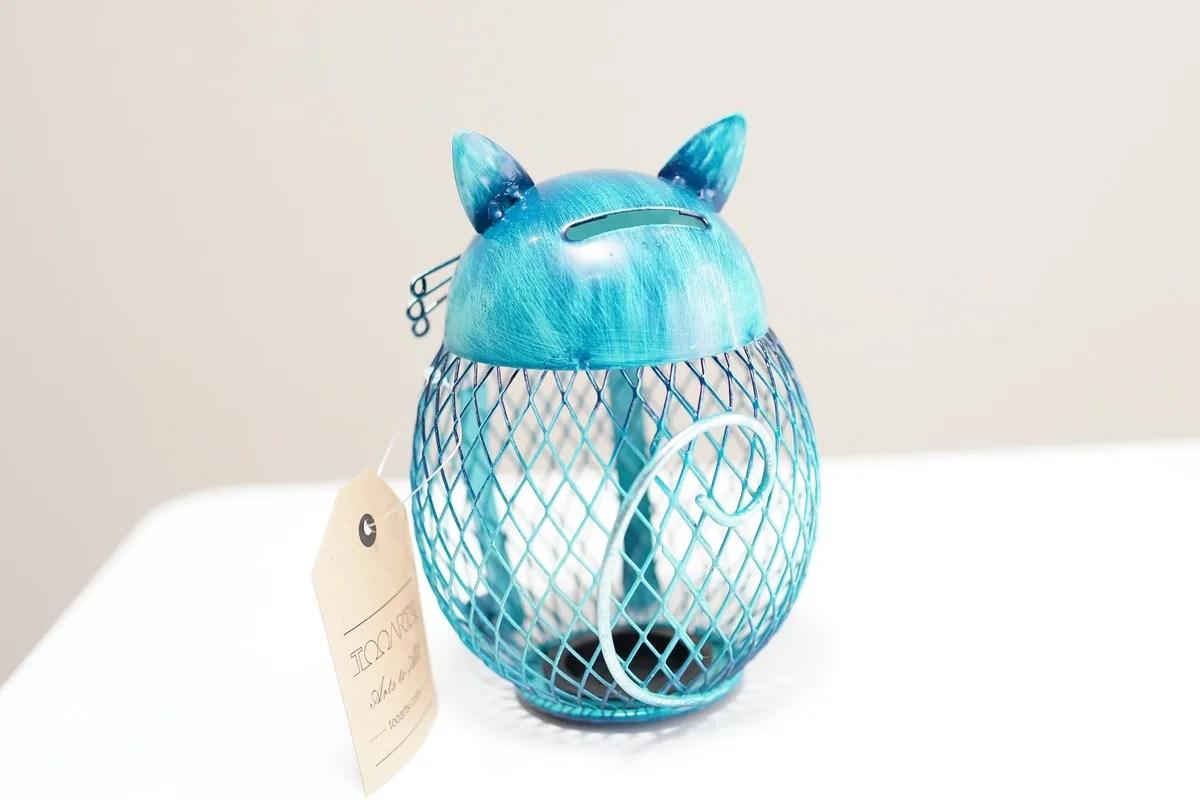 Amazon 彼女や女の子におすすめのプレゼント Tooartsの猫型の貯金箱