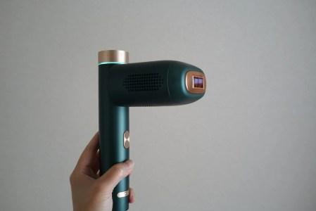自宅で簡単にIPL脱毛機でシミ取りできるか実験を始めます