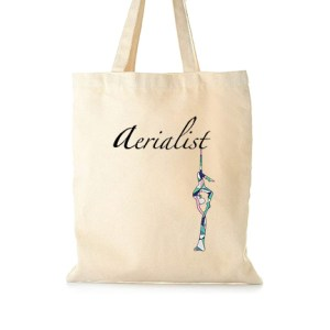 Aerial silks tote bag