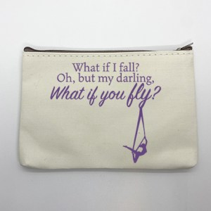what if you fly aerial sling makeup pouch