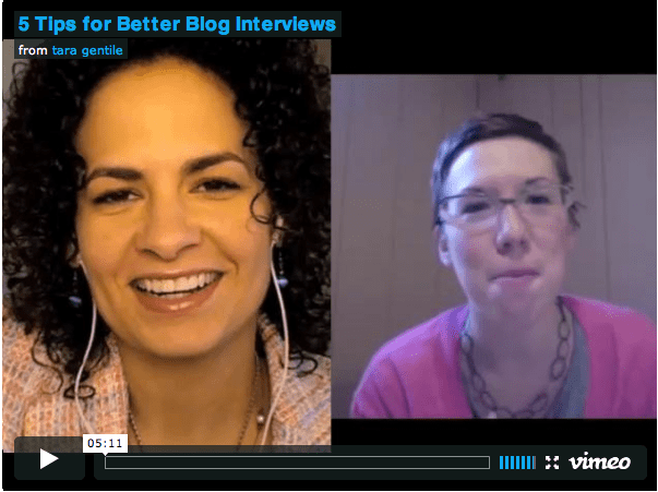 5 Tips for Crafting Creative Blog Interviews: Video with Dyana Valentine
