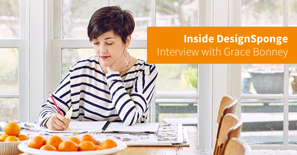 Inside DesignSponge: Tara Gentile interviews Grace Bonney