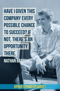 Nathan Barry, founder of ConvertKit, on Profit. Power. Pursuit.