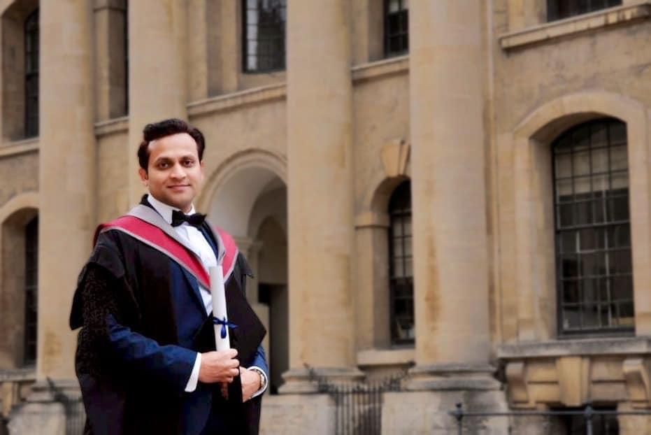 Oxford University Graduation Day