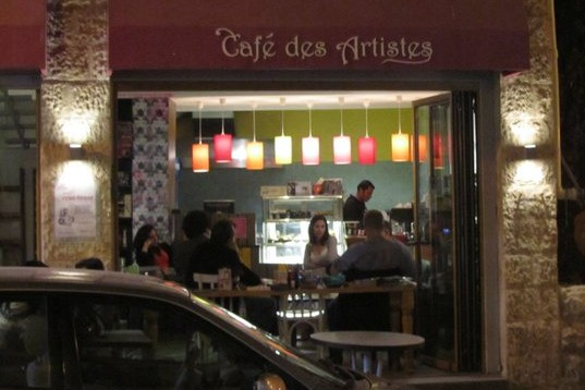 Cafe des Artistes' Artist Talks