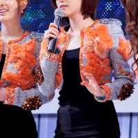 Eunjung fanpics at LGHD event