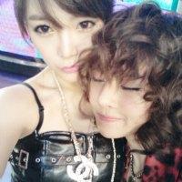 Soyeon & Boram couple selca