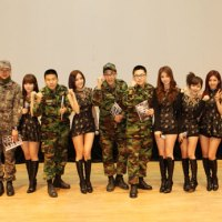 T-ara performed for Korean Air Force