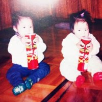 Hwayoung & Hyoyoung childhood photos