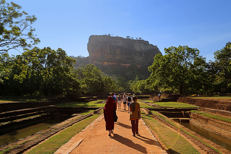 pilgrimage sigiriya lion rock