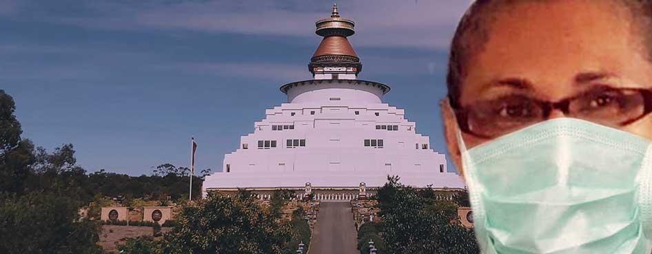 lekdren Bendigo stupa