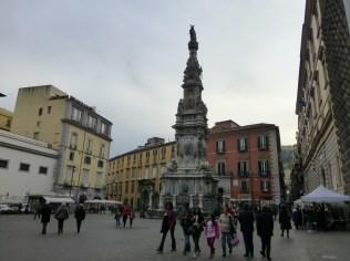 La piazza del Gesù Nuovo