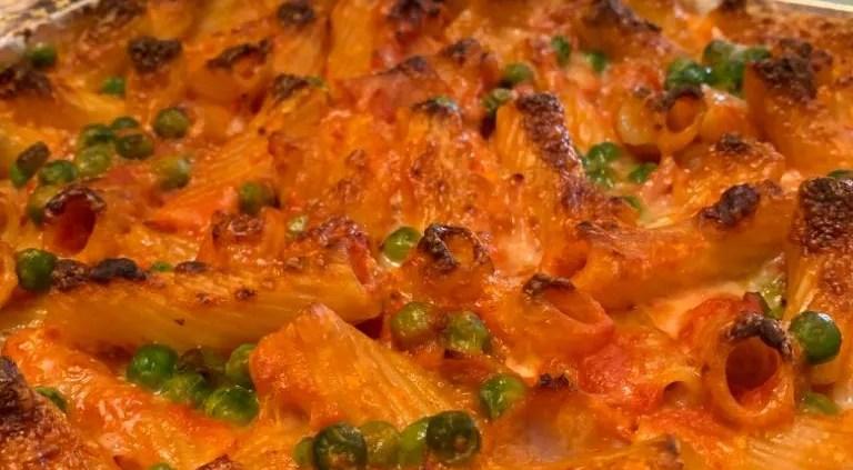 pasta al forno arancina