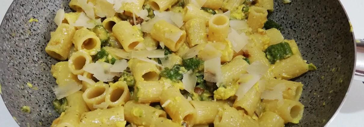 Carbonara leggera di zucchine