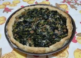 torta rustica broccoletti e salsiccia