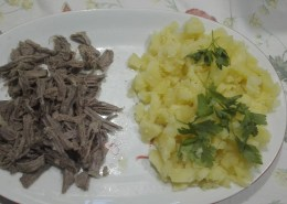 Carne da brodo in agrodolce