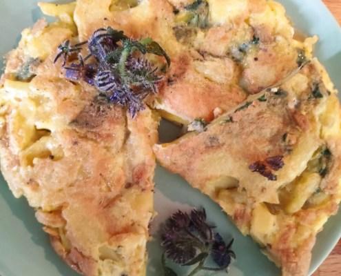 Frittatina di borragine e patate