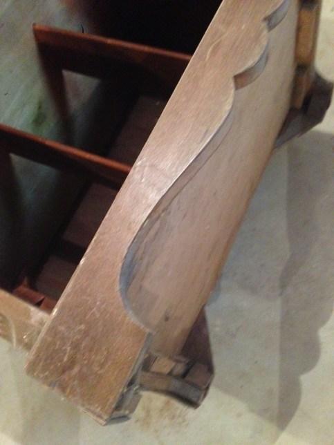 Veneer repaired