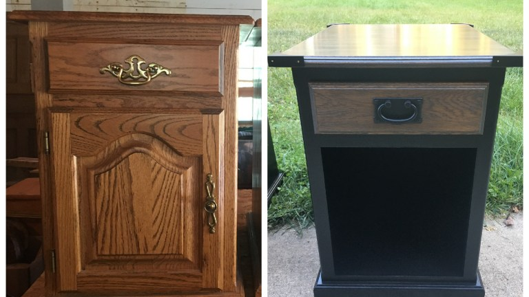 Flipping Dated Furniture