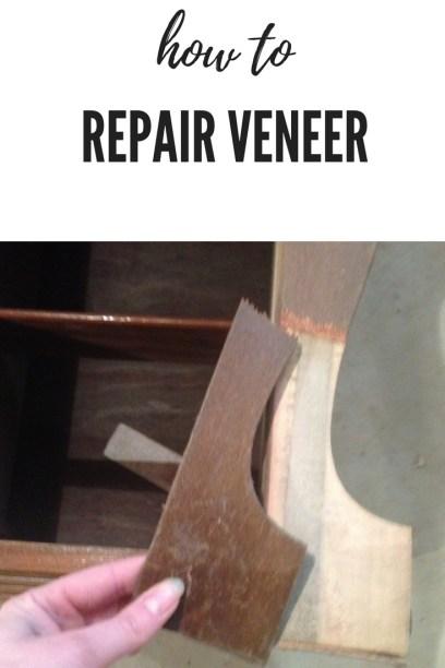 repair wood veneer