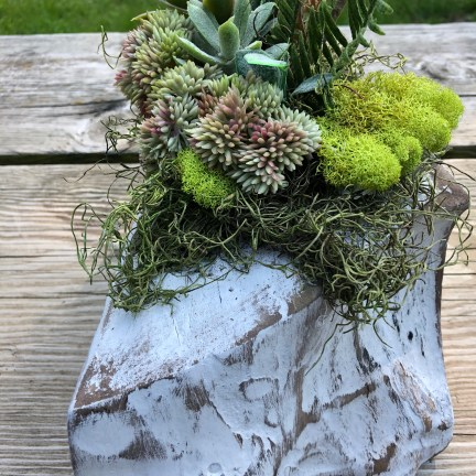 Recycled Center Piece Ideas