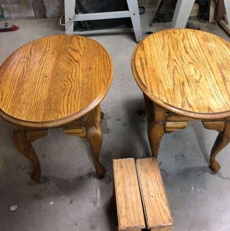 wood bleaching