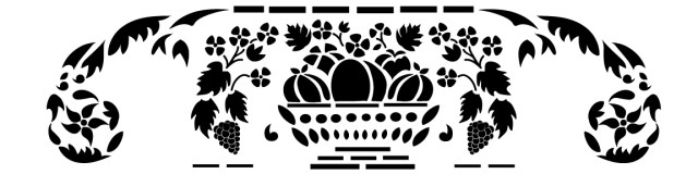 free stencil download for vintage harvest Childs rocker
