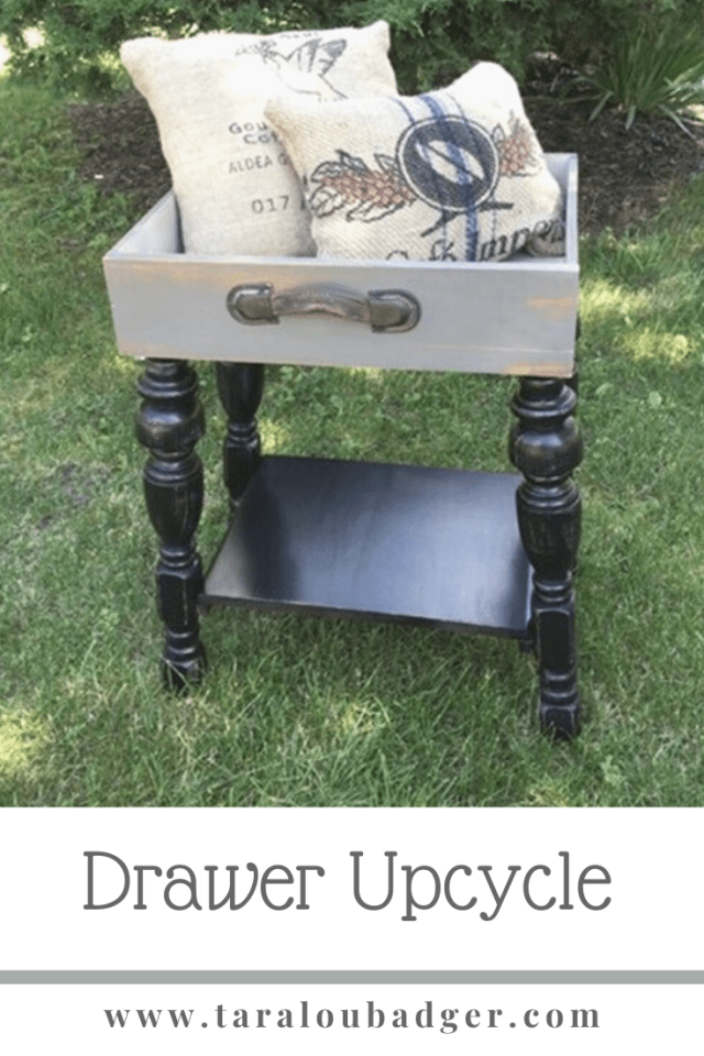 drawer Upcycle table