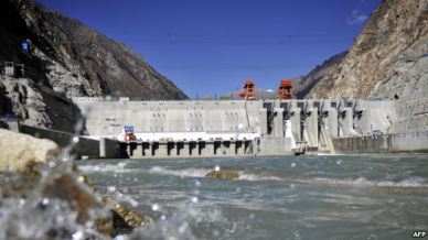 Tibet consciousness - Red China - Neocolonialist - Zangmu hydropower station in Occupied Tibet.