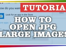 How to Open JPG Large images - Twitter Images