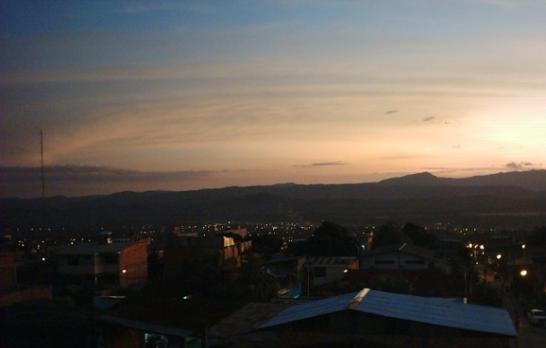 Tarapoto Late Sunset