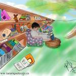 9 razones para ir con tu hijo a la biblioteca infantil