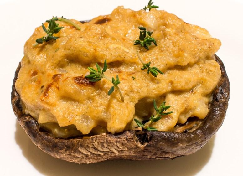 Portobello Mushroom Rarebit
