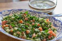 Cooking with herbs - Tabbouleh