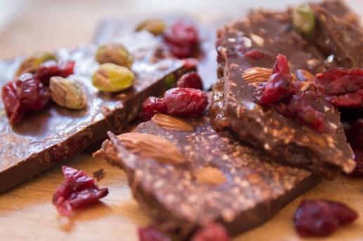 Christmas Gifting-Cacao Christmas Bark