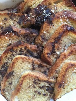 Chocolate Chai Bread And Butter Pudding