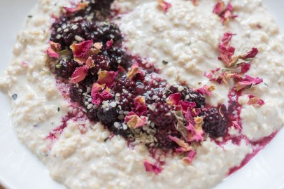 Apple and Blackberry Bircher Muesli