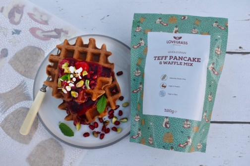 Cooking With Lovegrass Teff - Spring Vegetable Pasta