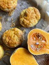 Cheesy Pumpkin Scones