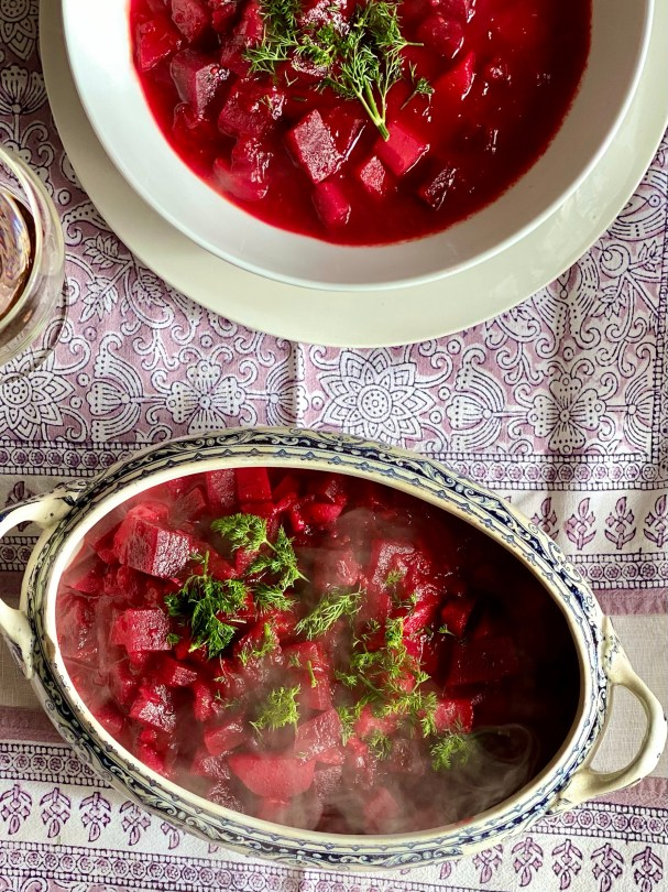 Tara Makes - Beetroot Borscht