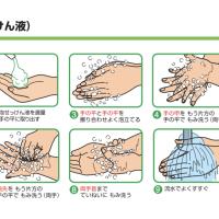 【COVID19】手洗いして、人混みを避ける