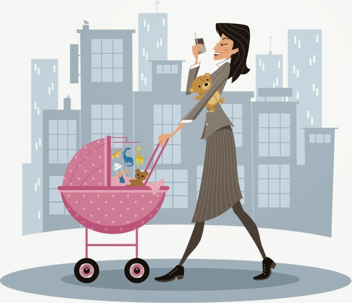A working mom's daily struggle