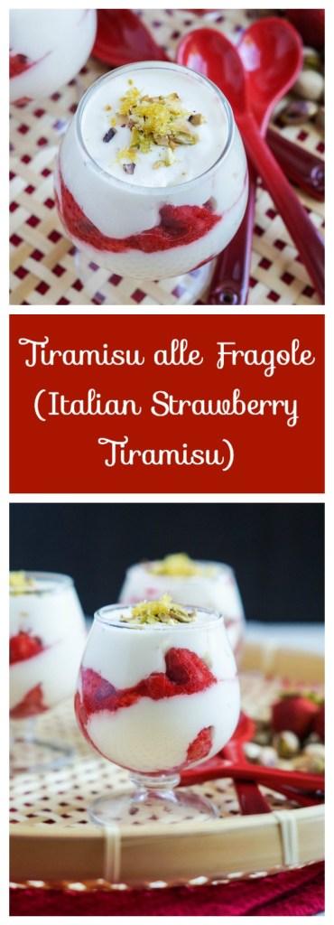 Tiramisu alle Fragole (Italian Strawberry Tiramisu)
