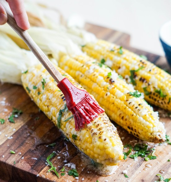 Parmesan Garlic Grilled Corn (2 of 2)
