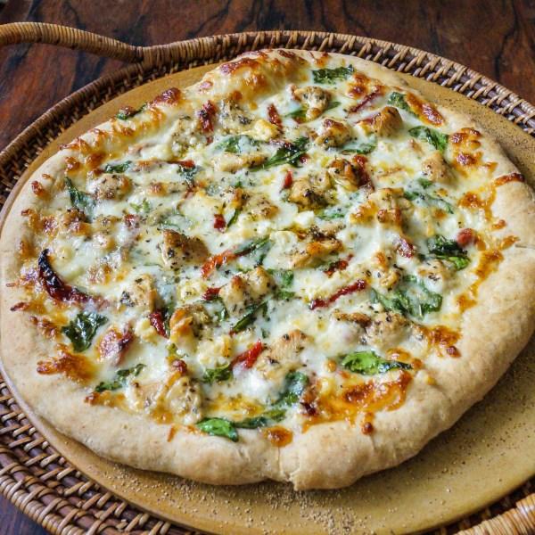 herbed chicken mediterranean pizza (5 of 6)