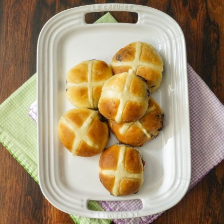 strawberry hot cross buns (10 of 11)