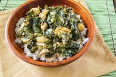 Liberian Greens and Rice