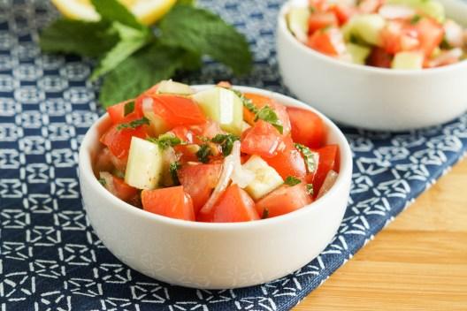 Domates Salatasi- Turkish Tomato Salad