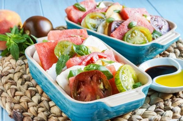 Watermelon Peach Caprese Salad (3 of 3)